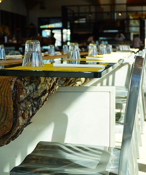 dettaglio sala ristorante stazione mole