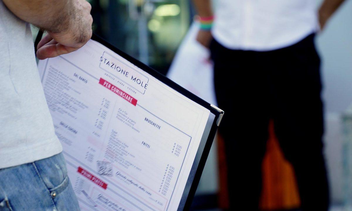 menu stazione mole