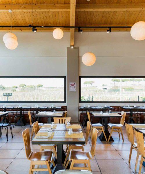 sala interna ristorante stazione mole